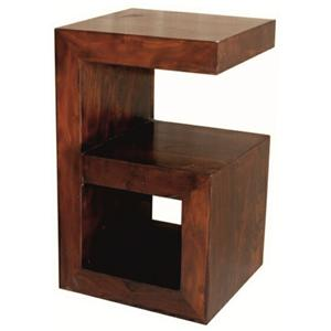 Morris Home Furnishings Brazil Sao Tome Chairside Table