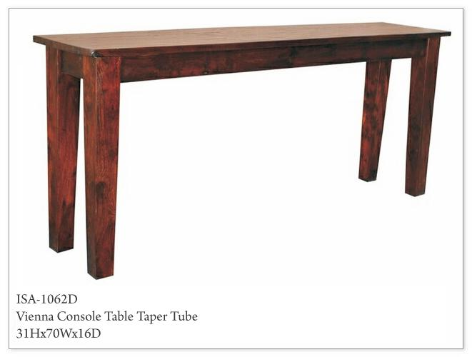 Morris Home Furnishings Morris Home Furnishings Sudan Console Table - Item Number: ISA-1062D