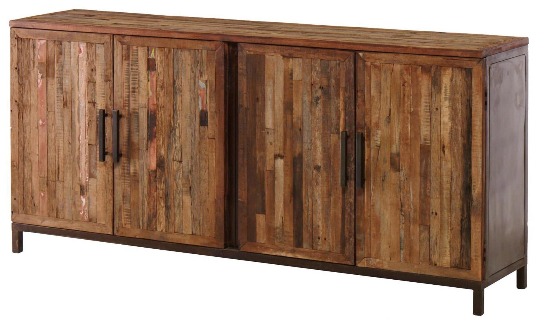 Ironwood 4 Door Sideboard