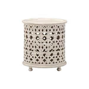Marguerite Round Lamp Table