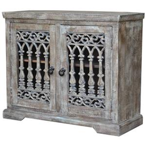 Jaipur Furniture Guru 2 Door Jali Server