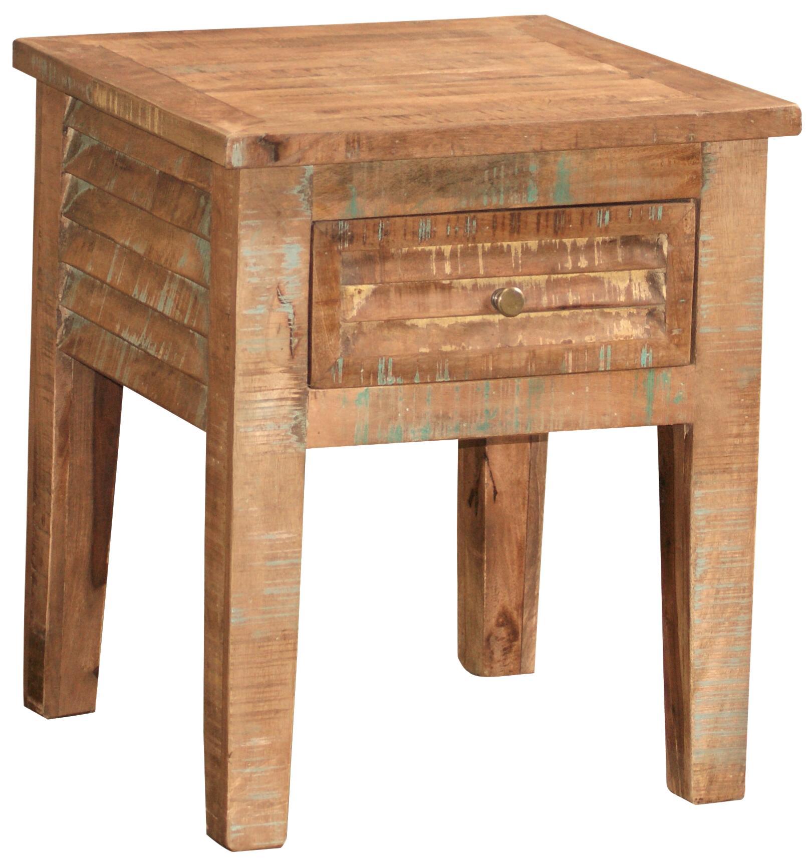 Morris Home Furnishings Morris Home Furnishings Bangladesh End Table - Item Number: GURU-84011