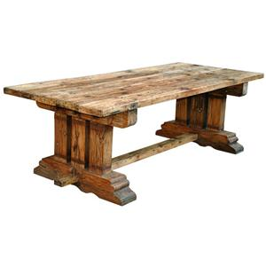Jaipur Furniture Industrial Reclaimed Dining Table