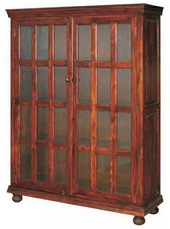 Jaipur Furniture Monsoon Glass Cabinet - Item Number: ISA-1080