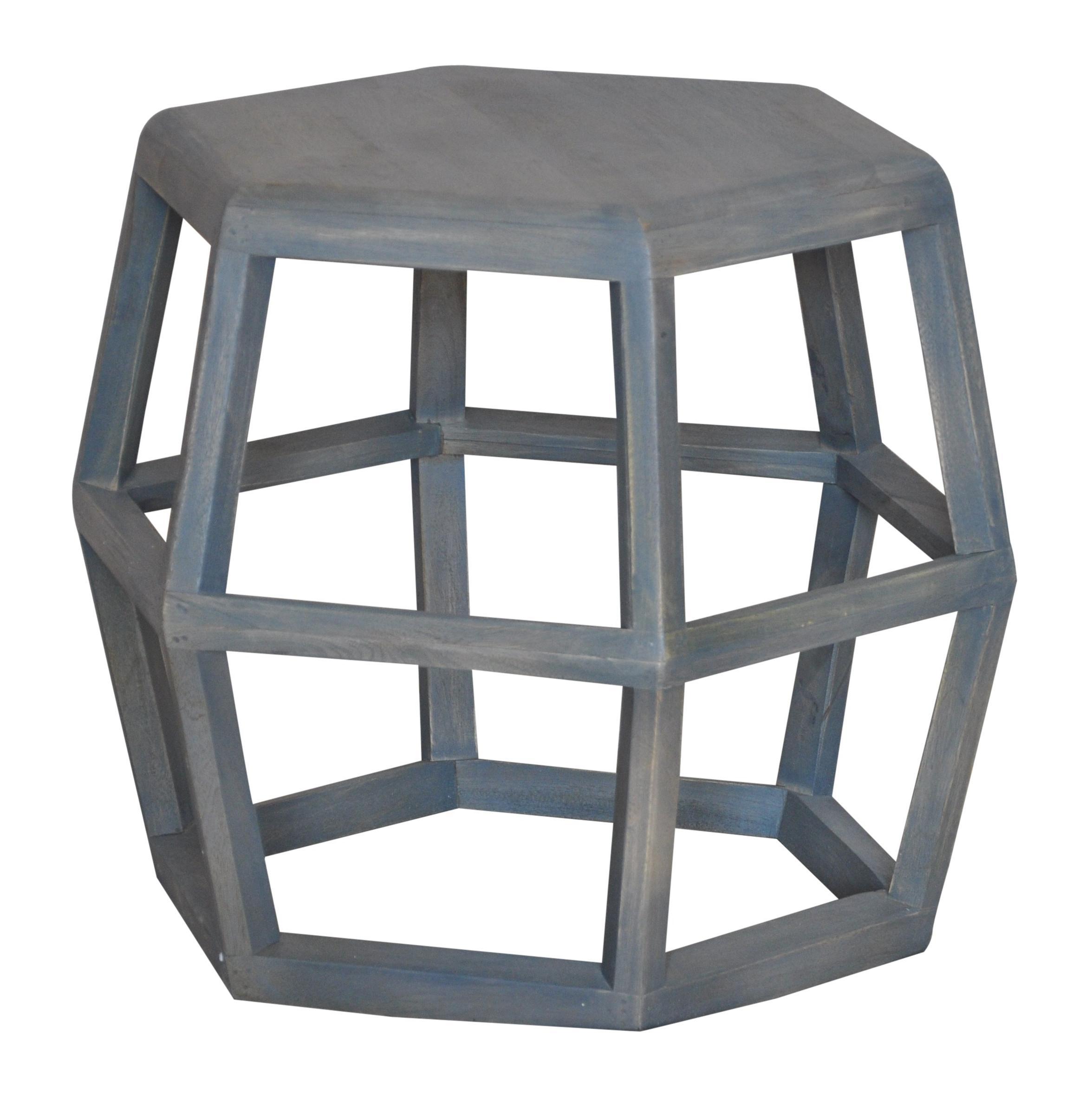 Jaipur furniture neemrana geometric lamp table with modern industrial style