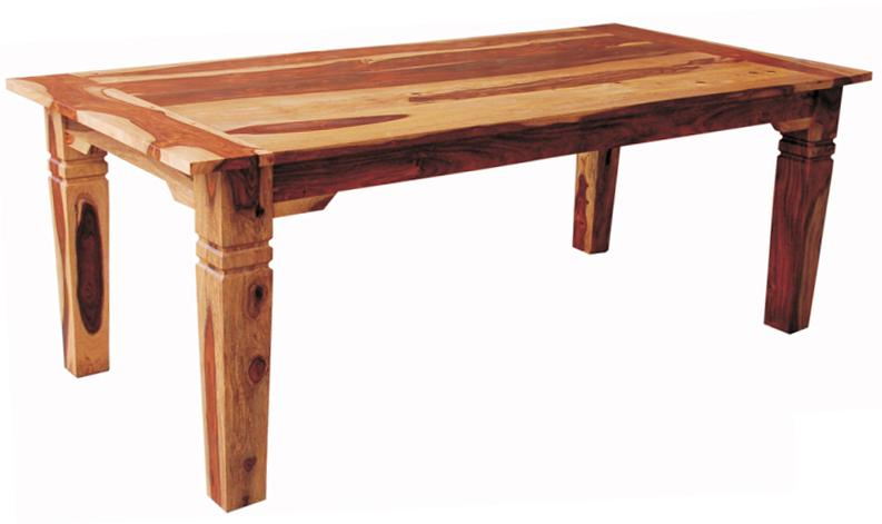 "Morris Home Furnishings Brazil Brazil 70"" Solid Wood Dining Table - Item Number: ISA9015"