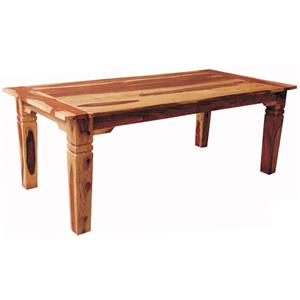 "Morris Home Furnishings Brazil Brazil 70"" Solid Wood Dining Table"