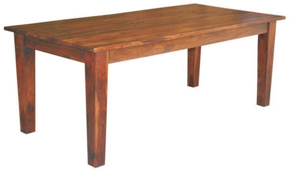 "Jaipur Furniture Vienna 67"" Dining Table - Item Number: ISA-9200D"