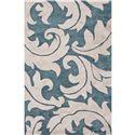 JAIPUR Rugs Blue 5 x 8 Rug - Item Number: RUG118410