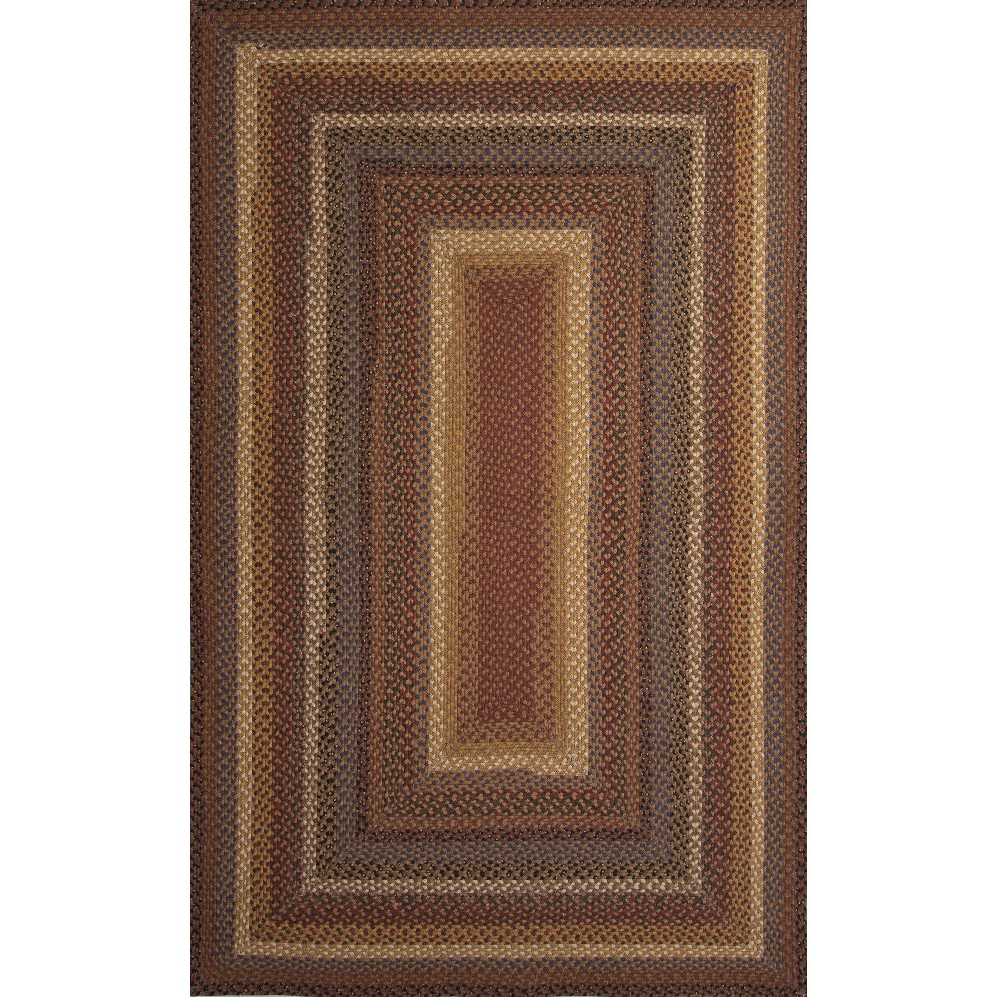 JAIPUR Rugs Cotton Braided Rugs 5 x 8 Rug - Item Number: RUG119488