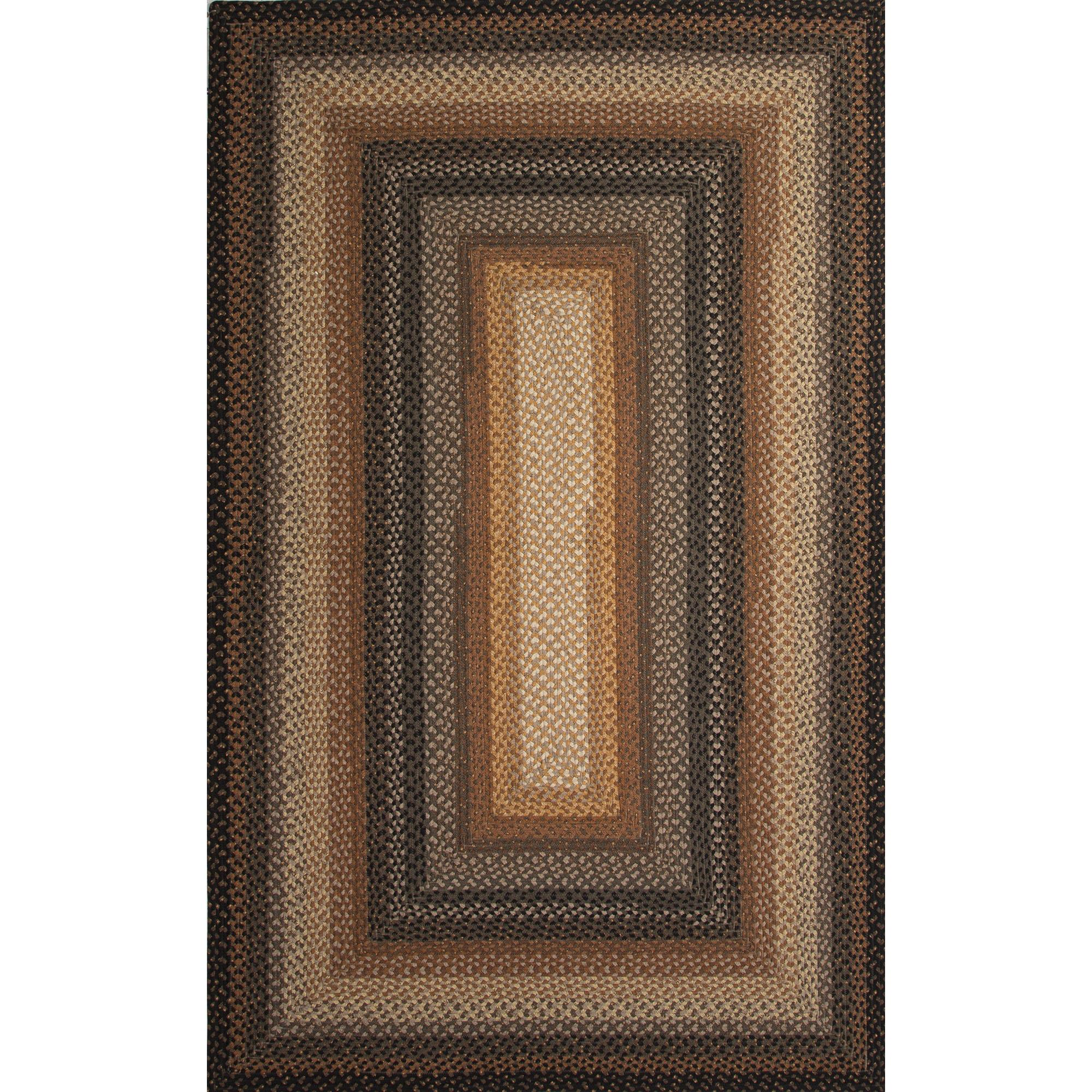 JAIPUR Rugs Cotton Braided Rugs 6 x 9 Rug - Item Number: RUG119545