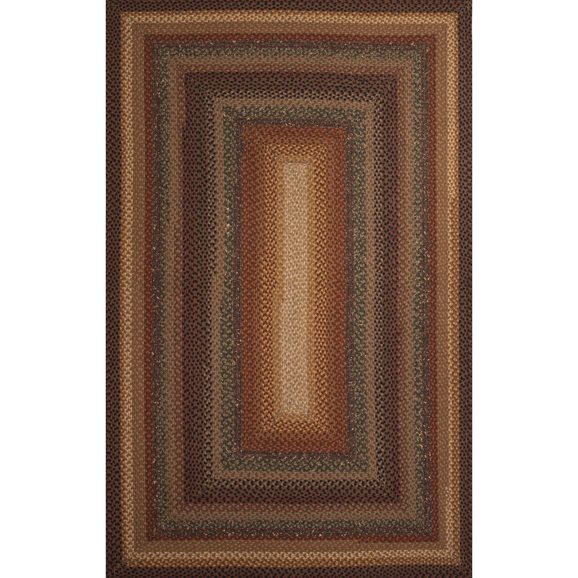 JAIPUR Rugs Cotton Braided Rugs 5 x 8 Rug - Item Number: RUG119611