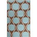JAIPUR Rugs En Casa By Luli Sanchez Flat-weave 8 x 11 Rug - Item Number: RUG117082