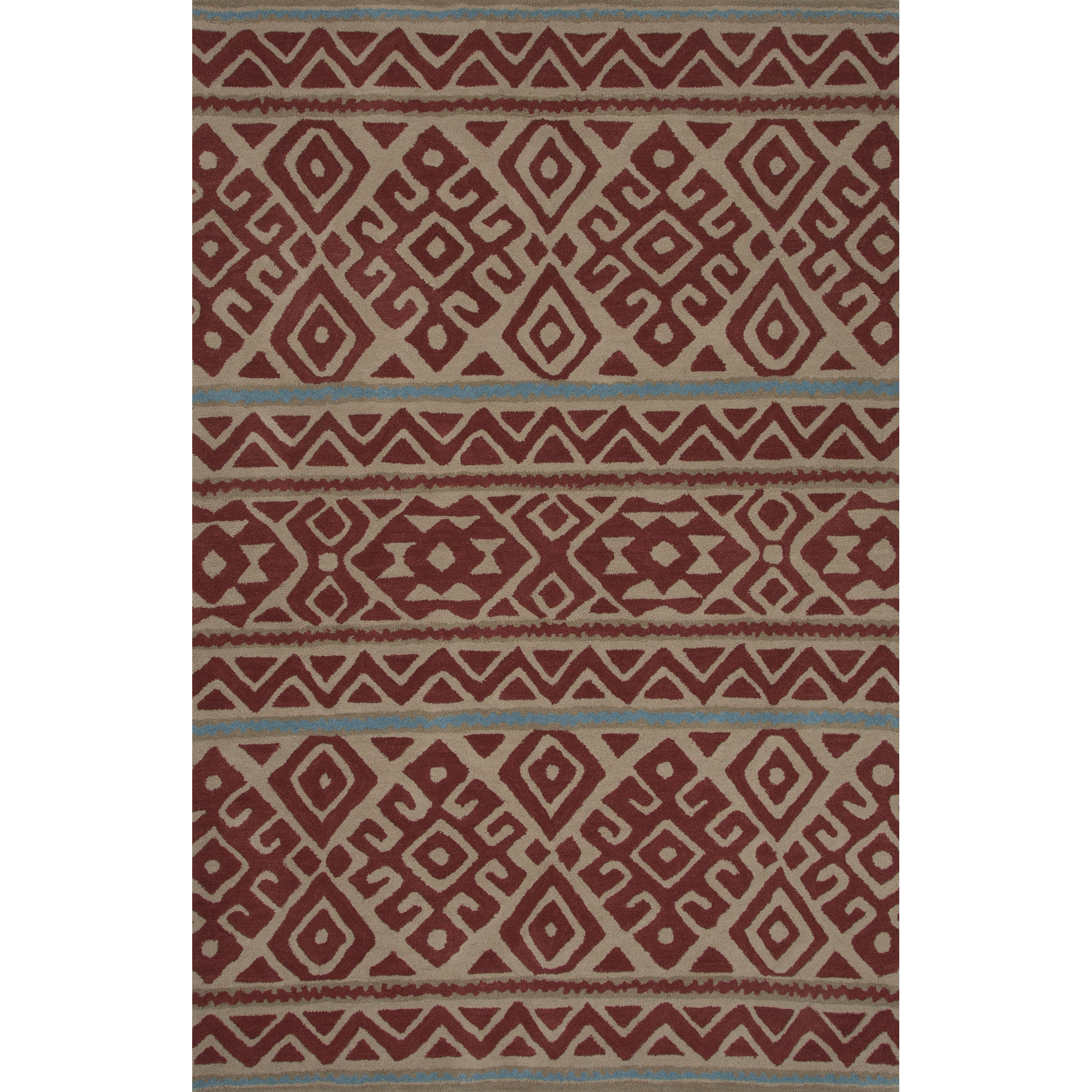 JAIPUR Rugs Traditions Made Modern Tufted 8 x 11 Rug - Item Number: RUG122211