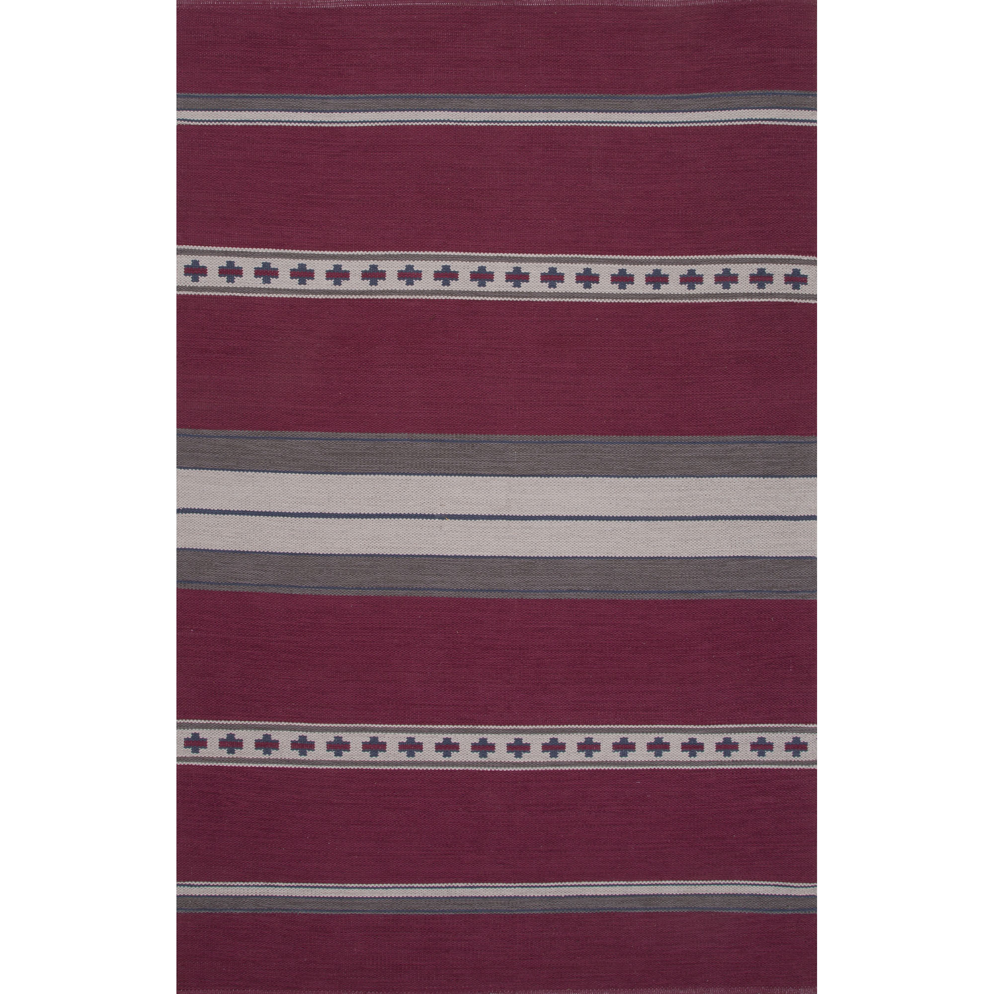 JAIPUR Rugs Traditions Modern Cotton Flat Weave 5 x 8 Rug - Item Number: RUG120653