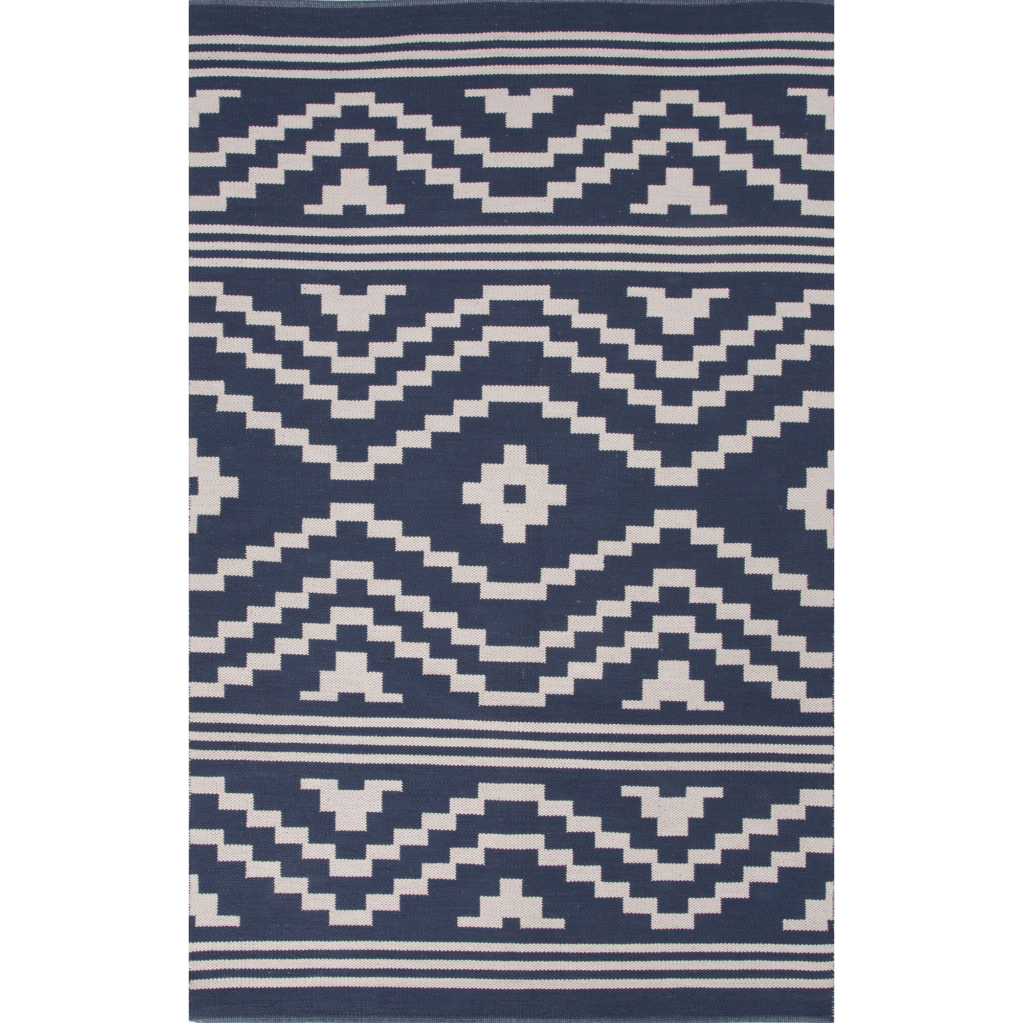 JAIPUR Rugs Traditions Modern Cotton Flat Weave 8 x 11 Rug - Item Number: RUG122225