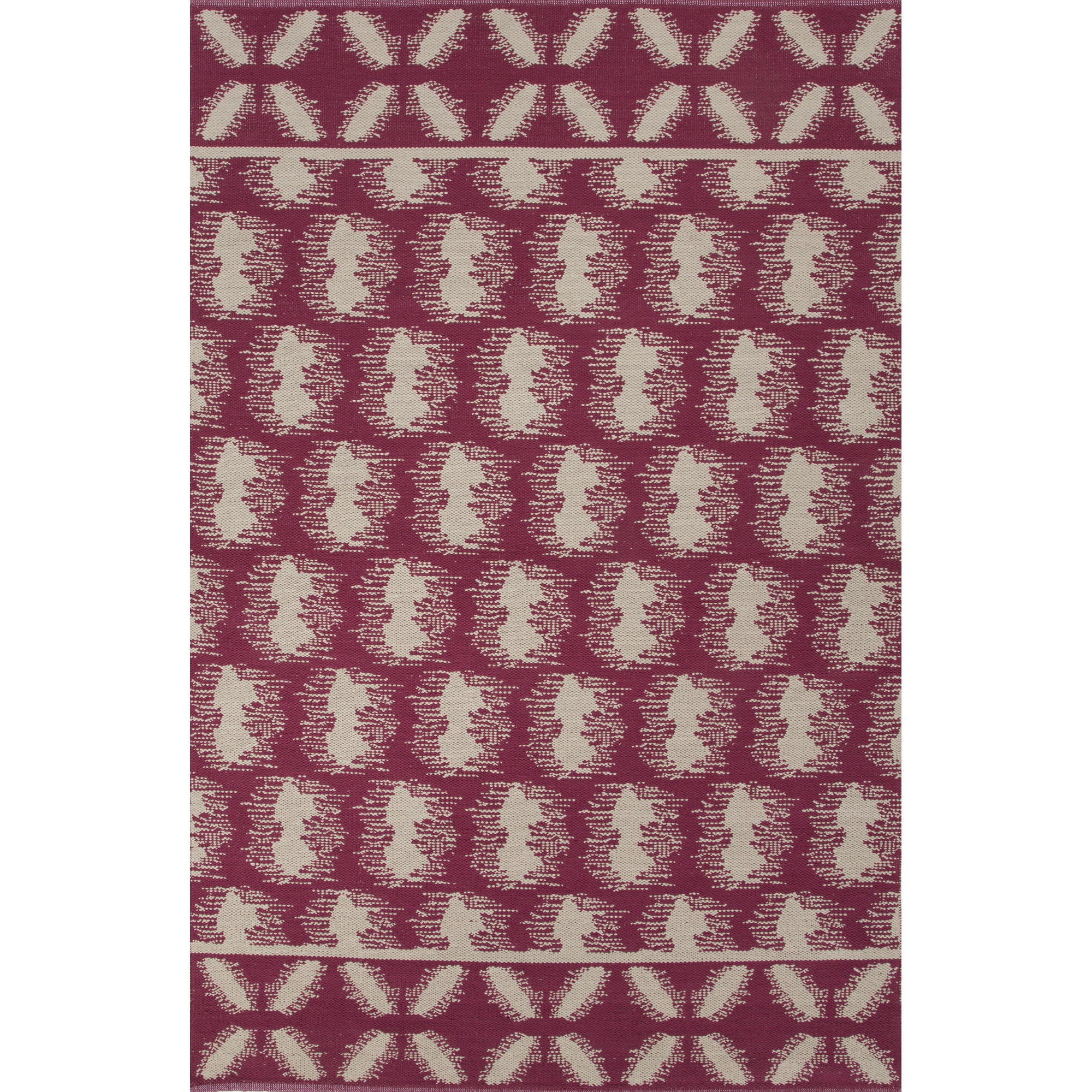 JAIPUR Rugs Traditions Modern Cotton Flat Weave 8 x 11 Rug - Item Number: RUG122231