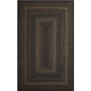 JAIPUR Rugs Ultra Durable Braided Rugs 3 x 5 Rug