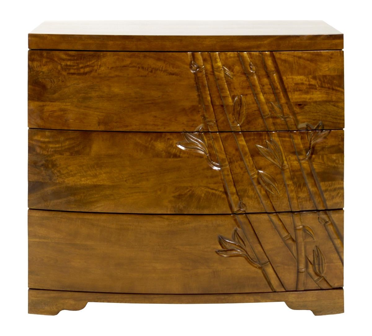 Jamieson Import Services, Inc. Foliage 3 Drawer Dresser - Item Number: 3DDBBMOA38 Foliage