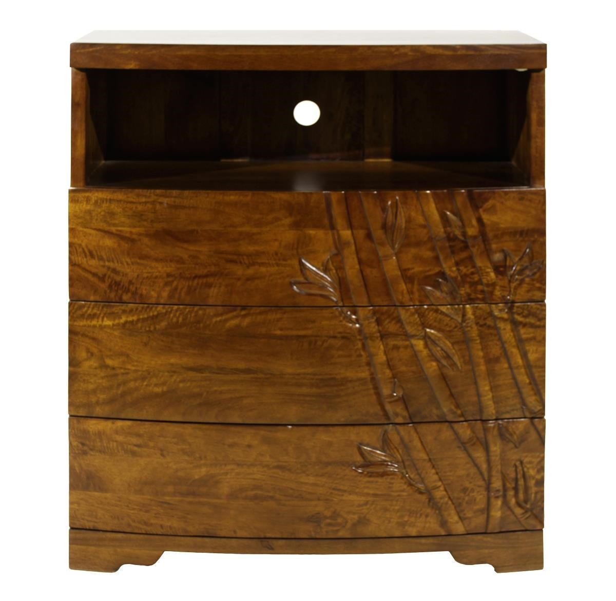 Jamieson Import Services, Inc. Foliage 3 Drawer Media Chest - Item Number: 3DRMEDBBMOA36