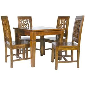 Jamieson Import Services Inc. Foliage 5 Piece Dining Package  sc 1 st  HomeWorld Furniture & Table and Chair Sets | Hawaii Oahu Hilo Kona Maui Table and ...