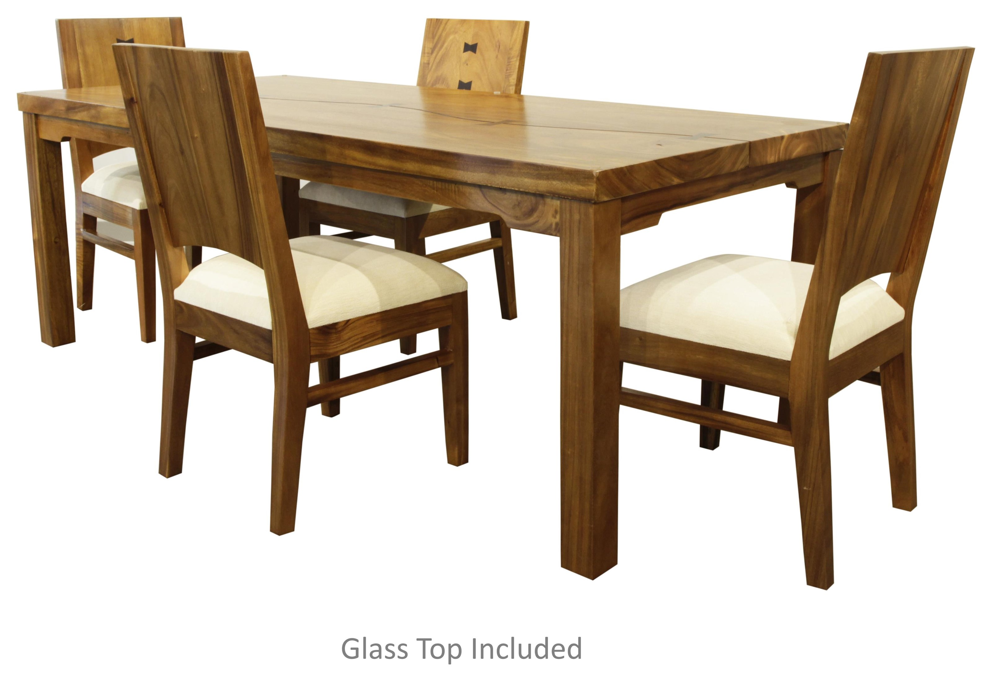 Napili 5 Piece Dining Set by Jamieson Import Services, Inc. at HomeWorld Furniture