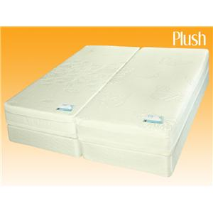 Jamison Bedding Leafwing Latex Queen Dual Comfort Latex Mattress Set