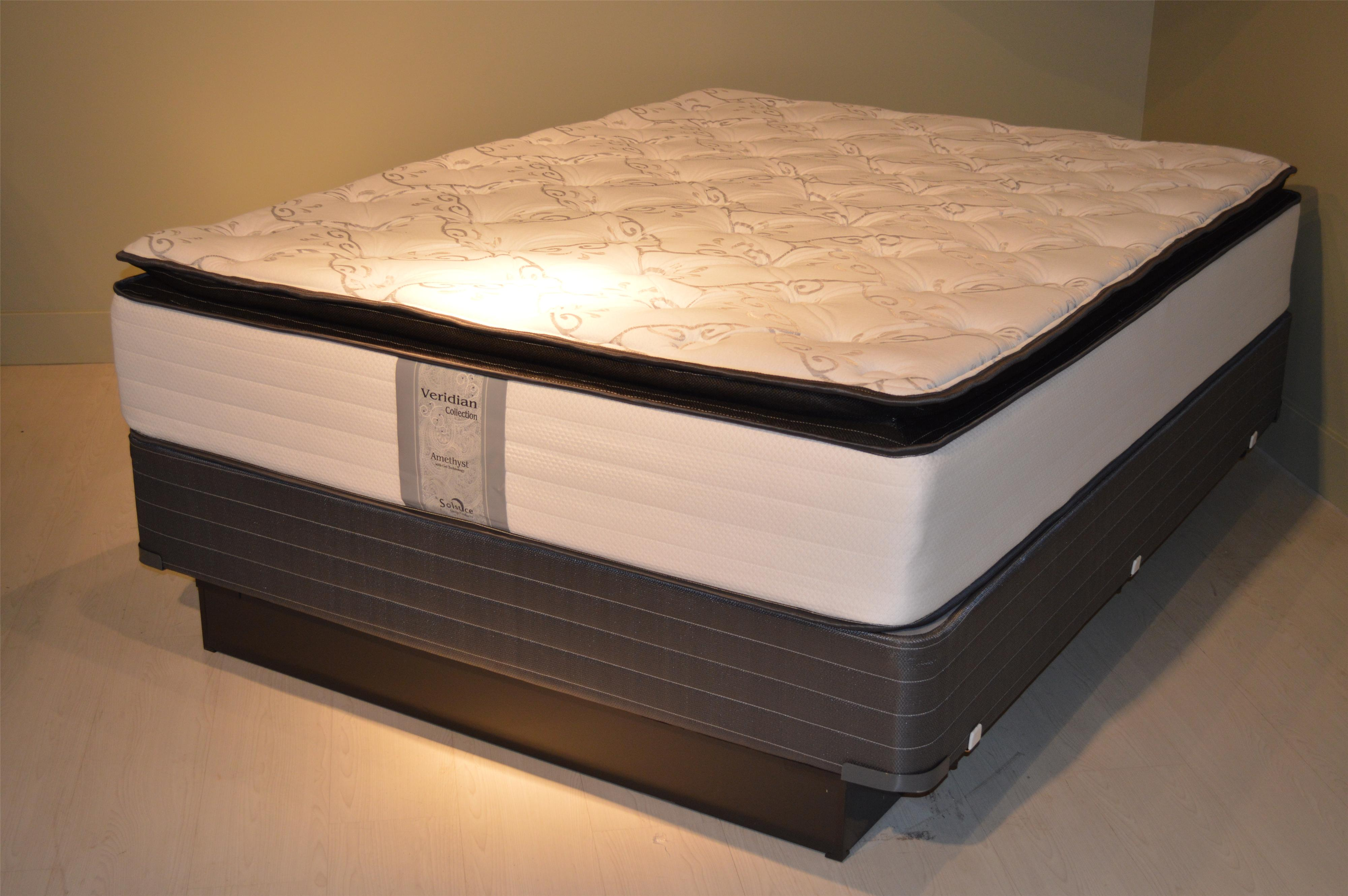 solstice sleep products amethyst pillowtop amethyst pillowtop mattress item number amethystptf - Jamison Mattress