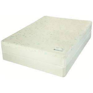 Jamison Bedding Cloudwing Latex Twin Extra Long Plush Firm Latex Mattress