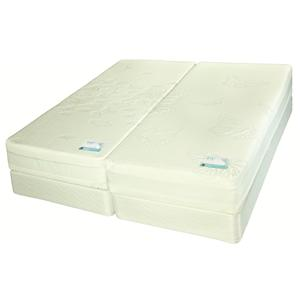 Jamison Bedding Monarch Latex King Dual Comfort Latex Mattress
