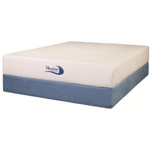 Jamison Bedding Pacifica Gel Twin Extra Long Gel Memory Foam Mattress