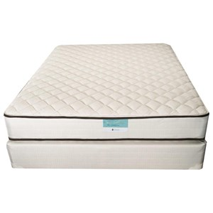 Jamison Bedding Resort Hotel Catalina King Firm Two Sided Mattress and TruBalance Foundation
