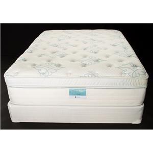 Jamison Bedding Resort Hotel Pinnacle Full Visco Boxtop Mattress Set