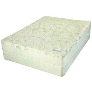 Jamison Bedding Swallowtail Latex Twin Firm Latex Mattress