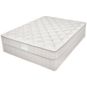 Jamison Bedding Two Thirty Four Collection - Series 400P King Plush Foam Mattress and Foundation
