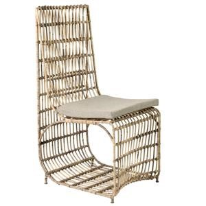 Jeffan Marvel Modern Dining Chair with Iron Frame