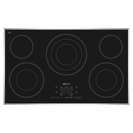 Jenn-Air Cooktops - Electric 36-Inch Electric Radiant Cooktop - Item Number: JEC4536BS