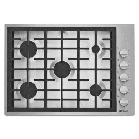 """Jenn-Air Cooktops - Gas 30"""" 5-Burner Gas Cooktop - Item Number: JGC7530BP"""