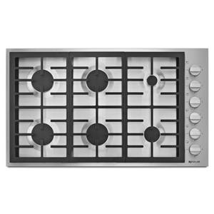 "Jenn-Air Cooktops - Gas 36"" 6-Burner Gas Cooktop"