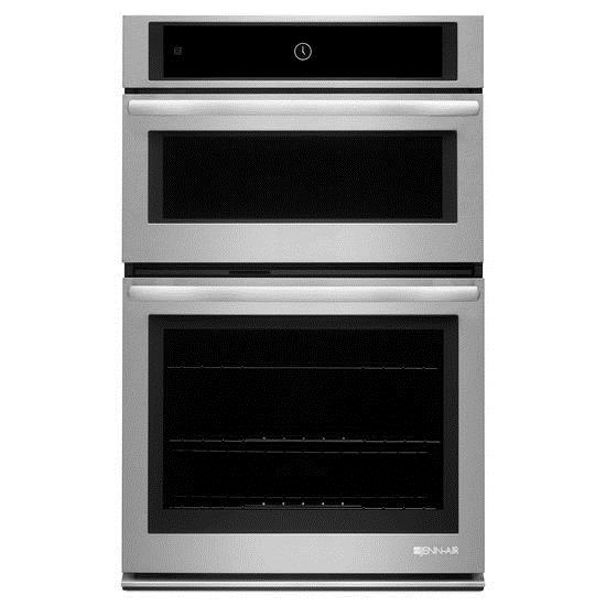 "Jenn-Air Ovens 27"" Microwave and Wall Oven - Item Number: JMW2427DS"