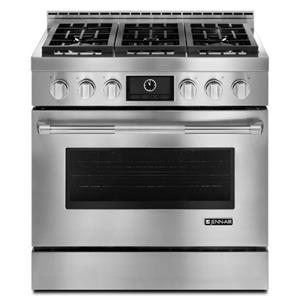 "Jenn-Air Ranges - Gas 36"" 5.1 cu. ft. Pro-Style® Gas Range"