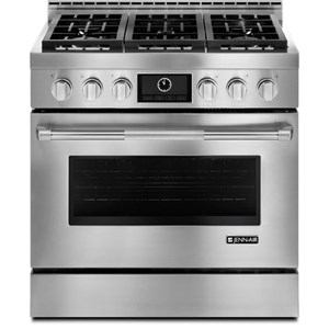 "Jenn-Air Ranges - Gas 36"" LP Convection Range"