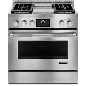"Jenn-Air Ranges - Gas 36"" LP Convection Range with Griddle"