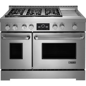 "Jenn-Air Ranges - Gas 48"" LP Convection Range with Griddle"