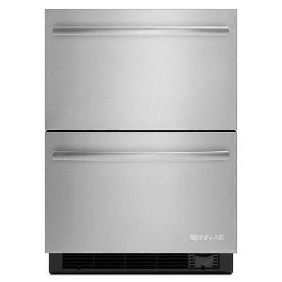 "Jenn-Air Special Compact Refrigeration 24"" Refrigerator/Freezer Drawers - Item Number: JUD24FCERS"