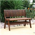 Jensen Leisure Beechworth Amber Outdoor Wood Bench