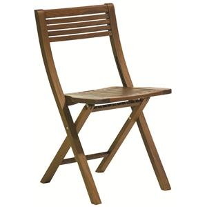 Gateleg Pearl Folding Outdoor Chair by Jensen Leisure