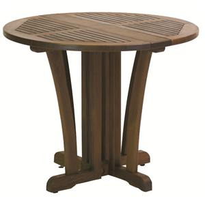 Gateleg Round Pedestal Table by Jensen Leisure