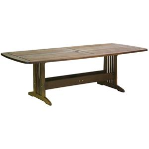 Governor Dining Bunbury Trestle Table by Jensen Leisure