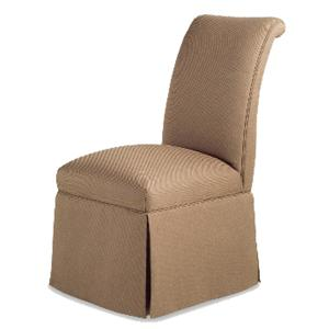 Sebastian Skirted Armless Chair